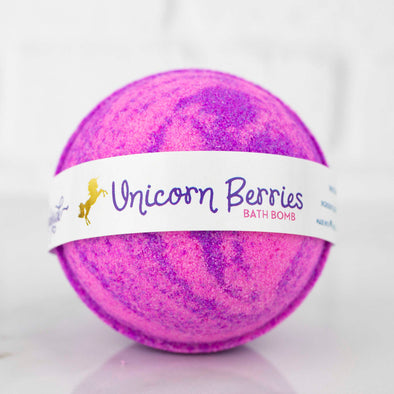 Unicorn Berries Bath Bomb