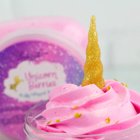 Pink Unicorn Soap with Gold Unicorn Horn