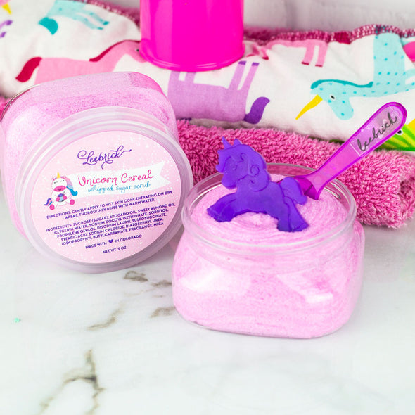 Unicorn Cereal Whipped Sugar Scrub