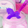 Unicorn Cereal scrub with unicorn soap