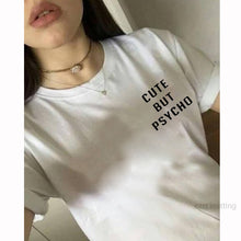 Load image into Gallery viewer, Cute but Psycho Short Sleeve Tee