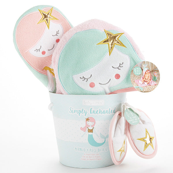 Simply Enchanted Mermaid 4-piece Gift Set