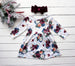 Girls Winter Rose floral dress, girls' Christmas Dress