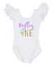 personalized ice cream first birthday leotard
