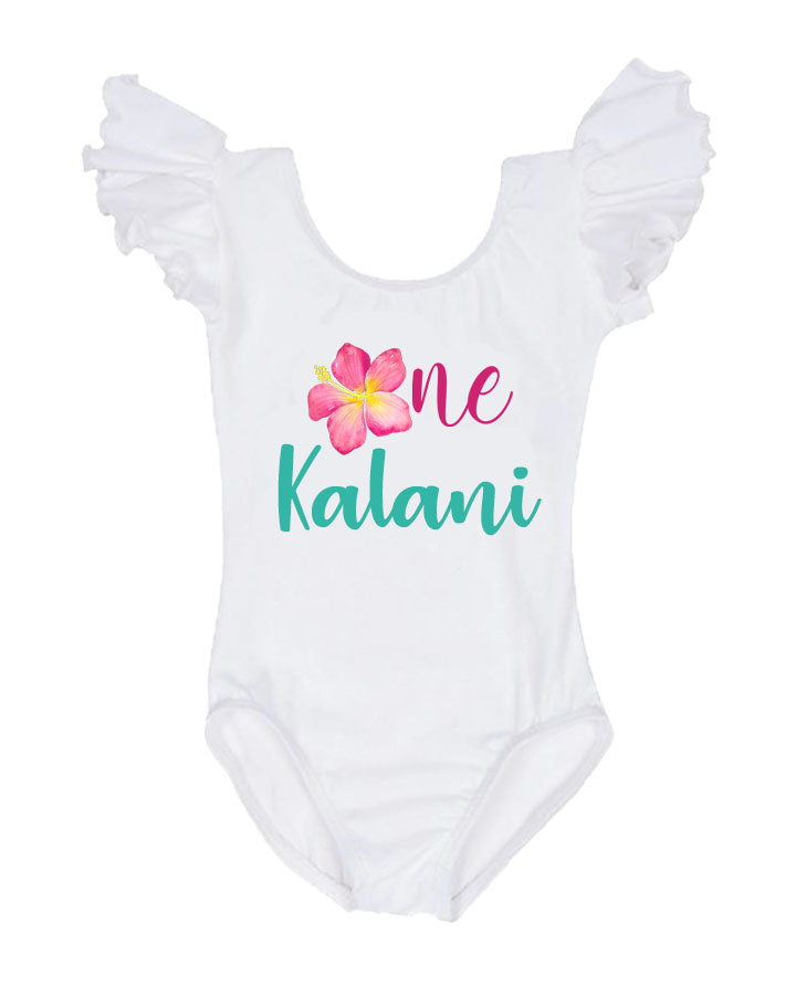 Luau Birthday Outfit, Luau Leotard, hawaii birthday outfit, luau first birthday