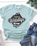 Support Wildlife Raise Boys Mom Tee