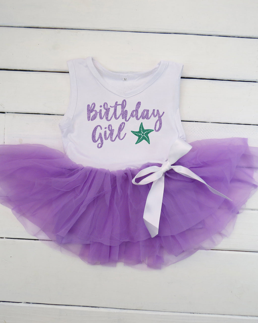 Under the Sea Birthday Tutu Dress