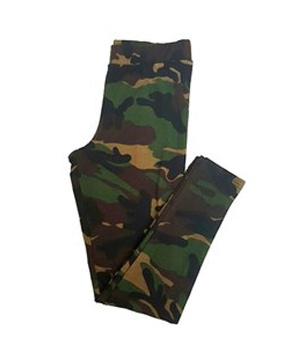 Big Girls' Camo Leggings