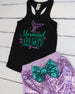 Mermaid At Heart Sequin Outfit