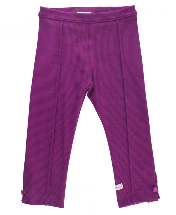 Rufflebutts Plum Ponte Pants