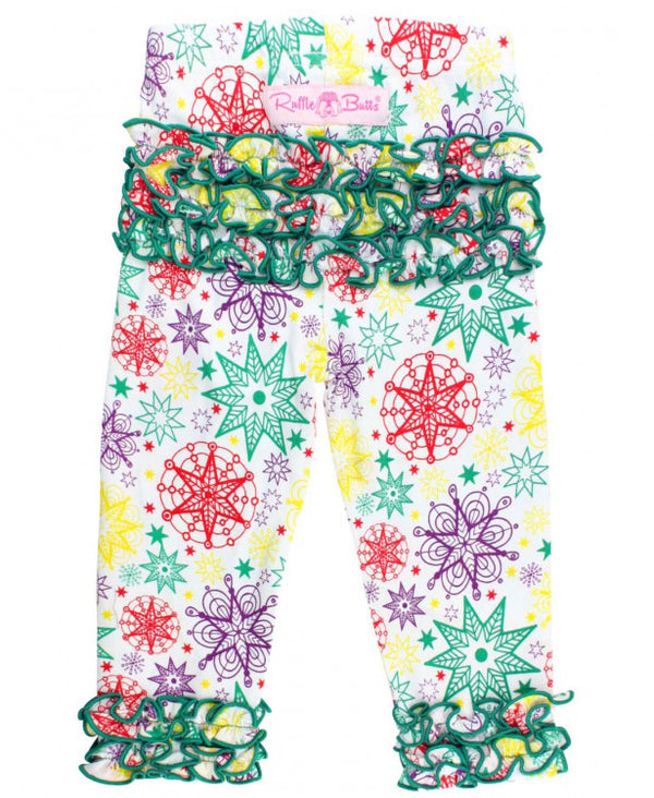 Rufflebutts How I wonder everyday leggings- Christmas leggings
