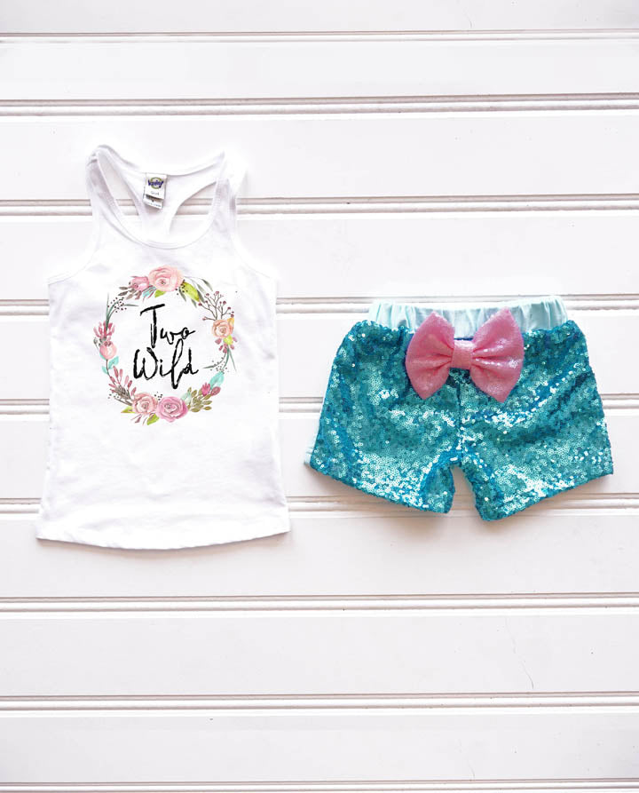 Girls Two Wild Birthday Outfit, Wild 2nd Birthday Outfit, Wild second birthday, Boho Girl Clothing