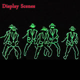 DIY LED Luminous Costumes Gloves Shoes Suits *** FREE SHIPPING *** - Delivered Value