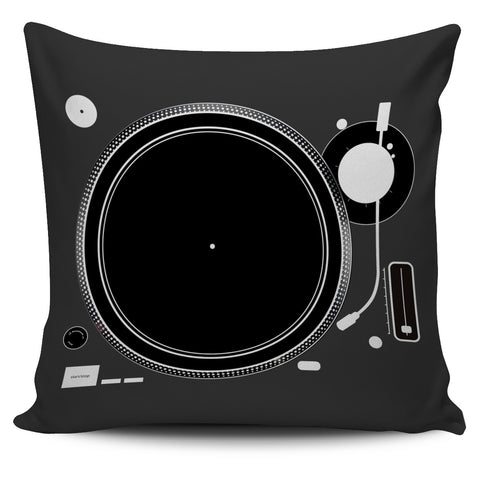 Custom Design DJ Turntable Mixer Pillow Cushions *** FREE SHIPPING ***