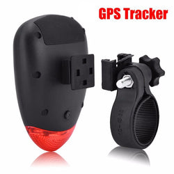Anti-Theft LED Waterproof Rear Bicycle Light built-in Hidden GPS Tracking Device - Delivered Value