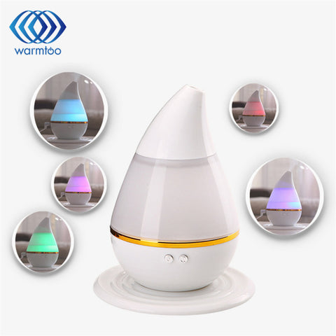 Ultrasonic LED Air Humidifier Aromatherapy and Essential Oil Diffuser 250ml - Delivered Value