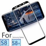 Samsung 4D Tempered Glass 3D edge Curved Full Screen protector film for S8 and S8 plus - Delivered Value
