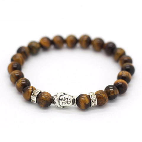 New Buddha Head Lucky Stone Bracelet - Delivered Value