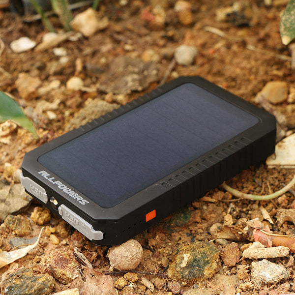 Portable Solar Power Bank and Charger 12000mAh - Delivered Value