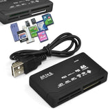All in One Memory Card Reader USB External - Delivered Value