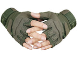 US Army Style Tactical Half Finger Outdoor Gloves - Delivered Value