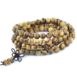 Authentic Vietnamese Agarwood 108 Prayer Meditation Mala Beads *** FREE SHIPPING *** - Delivered Value