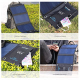 Portable 20W Solar Panel Power Bank and Dual USB Charger - Delivered Value