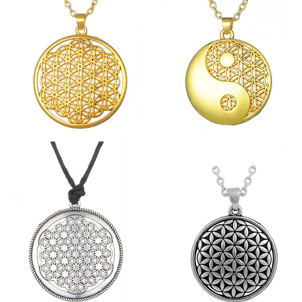 Supernatural Flower of Life Chi Pendant Necklace *** FREE SHIPPING *** - Delivered Value