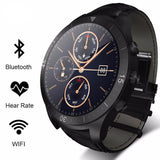 Smart Watch with Heart Rate Monitor Leather Strap *** FREE SHIPPING *** - Delivered Value