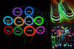 1M or 2M Flexible Waterproof Neon LED Wire Multiple Colors - Delivered Value