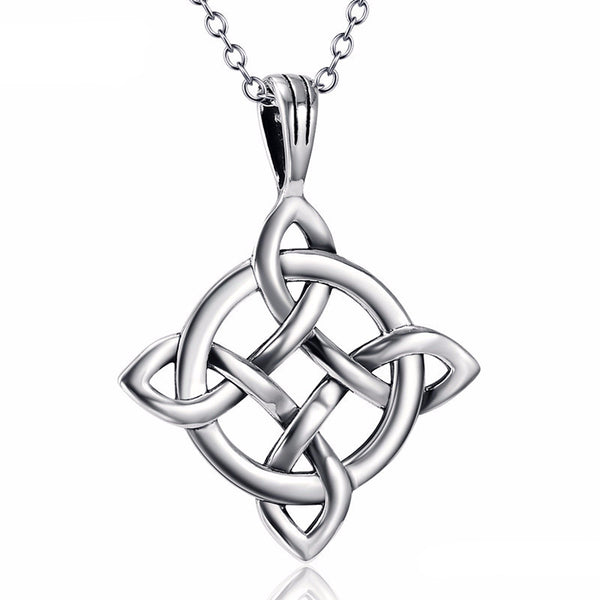 Genuine 925 Sterling Silver Infinity Knot Pendant Necklace *** FREE SHIPPING *** - Delivered Value