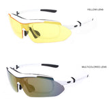 Professional Polarized Cycling SunGlasses UV 400 With 5 Lens - Delivered Value