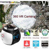 360 Degree Mini Virtual Reality Panoramic 4K Wifi Video Camera - Delivered Value