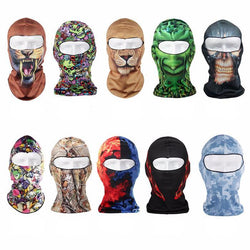 Motorcycle Multi-Style Cotton Windproof Full Face Mask - Delivered Value