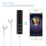 Universal 3.5mm jack Bluetooth Hands free Music Audio Receiver Car Kit - Delivered Value