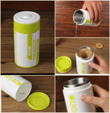Self Stirring Battery Style Electric Mug Stainless Steel - Delivered Value