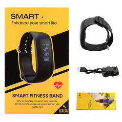 Smart Wrist Watch Band with Dynamic Heart Rate and Fitness Activity Monitor - Delivered Value