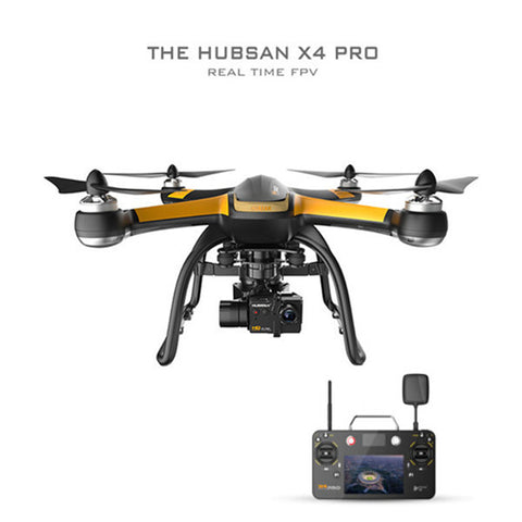Hubsan X4 Pro H109S 5.8G FPV With 1080P HD Camera - Delivered Value
