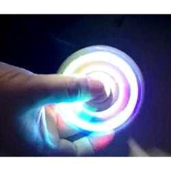 New LED Light Fidget Tri-Spinner *** FREE SHIPPING *** - Delivered Value