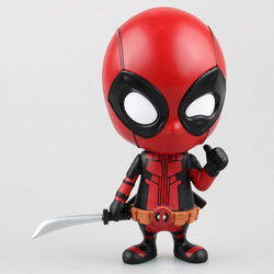 Bobble Head Marvel Deadpool Action Figure - Delivered Value