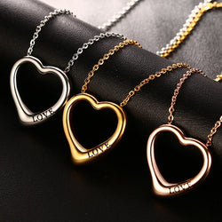 Beautiful Heart Choker Pendant Necklace - Delivered Value