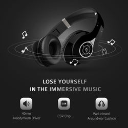 Noise Cancelling Wireless Bluetooth 4.0 Headphones