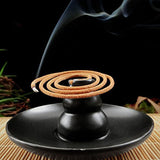 Multipurpose Ceramic Bottle Gourd Shaped Black Ceramic Incense Burner - Delivered Value