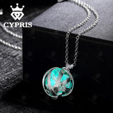 CYPRIS Globe Luminous Stone Necklace - Delivered Value