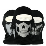 Motorcycle SKULL and Ghost Windproof Full Face Mask - Delivered Value