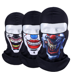 Motorcycle Cartoon Skull Joker Windproof Full Face Masks - Delivered Value