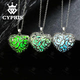 CYPRIS Heart Luminous Necklace - Delivered Value