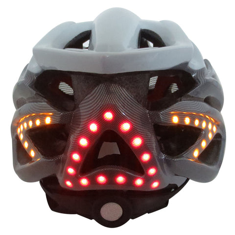 Smart Bicycle SAFETY LED Lights Cycling Helmet and two-way talk Bluetooth headphone - Delivered Value