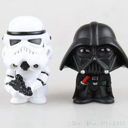 Bobble Head Star Wars Stormtrooper Darth Vader Action Figures - Delivered Value