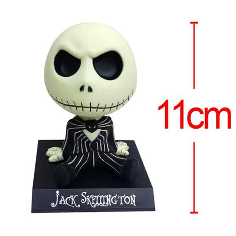 Bobble Head The Nightmare Before Christmas Jack Action Figure - Delivered Value